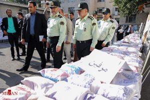 تصاویر دستگیری باند بینالمللی قاچاق در تهران
