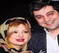 نیوشا ضیغمی به همراه همسرش آرش پولادخان در هواپیما