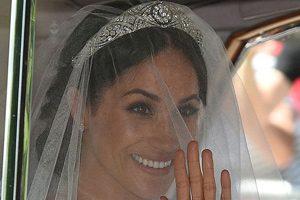 جزئیات آرایش صورت و مدل مو مگان مارکل در روز عروسی اش