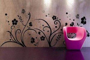 کاغذ دیواری یا رنگ کدام مناسب تر است + تصاویر