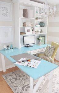 10 نمونه اتاق کار خانگی بی نظیر ، جذاب ، مدرن و شیک