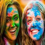 جشنواره رنگ ها در لبنان فستیوالی رنگارنگ و شاد