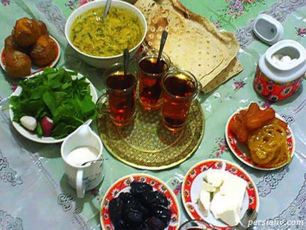 آداب و رسوم ماه رمضان