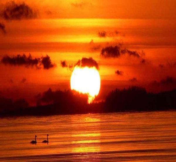 دعاهای هنگام طلوع و غروب آفتاب