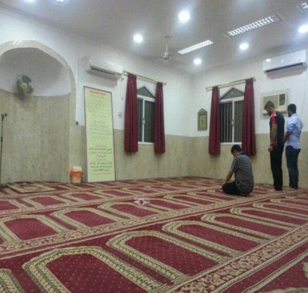 خواندن نماز حاجت در مسجد