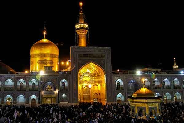 نماز حاجت امام رضا