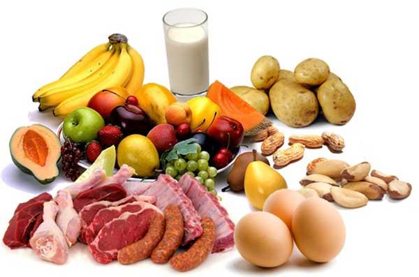 خواص مواد غذایی از نظر امامان