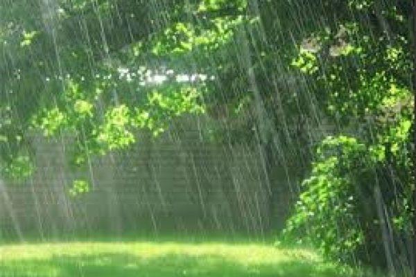 دعا در هنگام باران