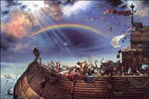 ماجرای پهلو گرفتن کشتی نوح بر قله کوه جودی