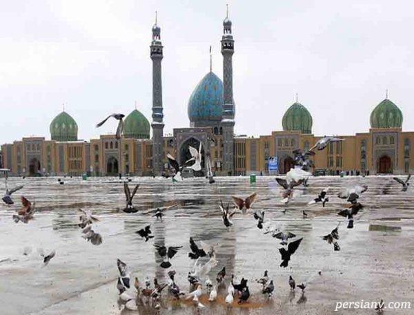 توسل به امام زمان در مسجد جمکران