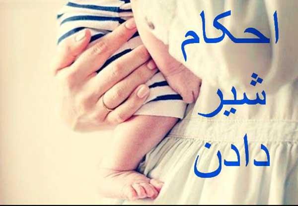 احکام شیر دادن نوزاد
