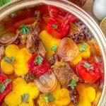 طرز تهیه طاس کباب سیب زمینی