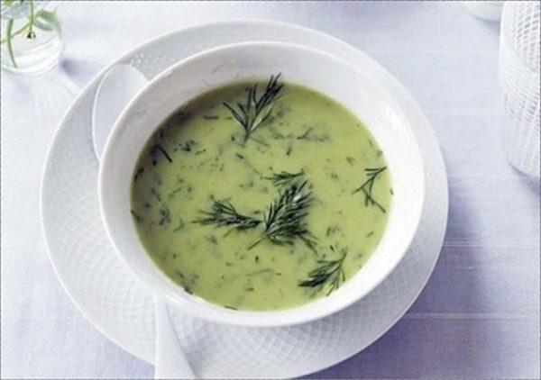 طرز تهیه سوپ شوید