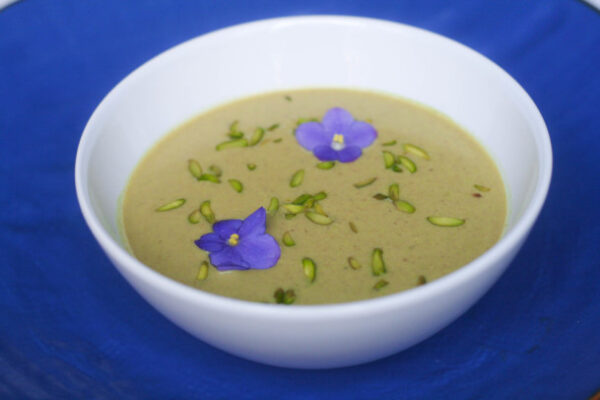 سوپ پسته