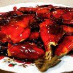 طرز تهیه مرغ سرخ شده با سس آلبالویی