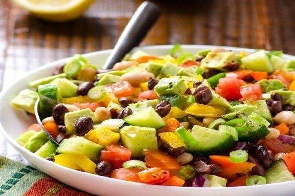 طرز تهیه سالاد تابستانی با سبزیجات