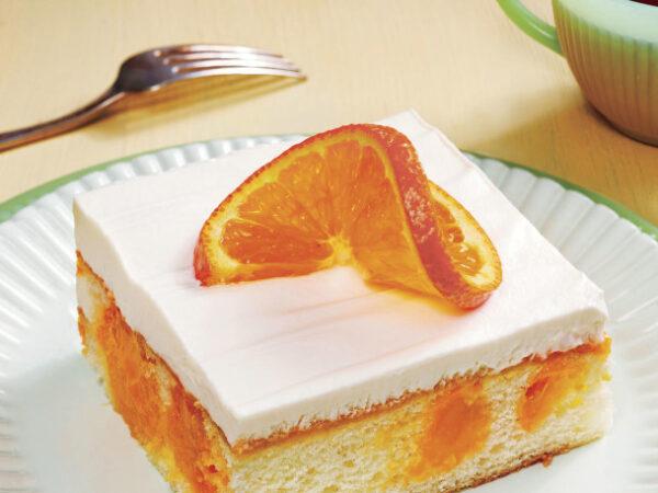 دسر ساده با پرتقال