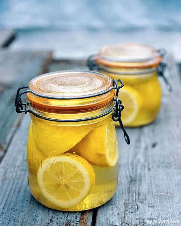 ترشی پوست لیمو ترش