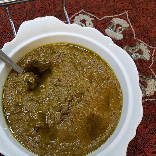 طرز تهیه خورش فسنجان با پسته رفسنجان