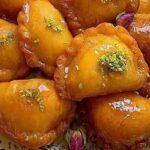 شیرینی سنتی شهر خلخال : قطاب عسلی