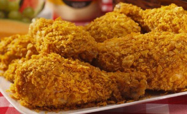 تهیه مرغ سوخاری اسپایسی