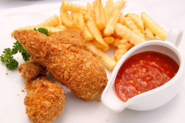 مرغ سوخاری اسپایسی خوشمزه و ترد