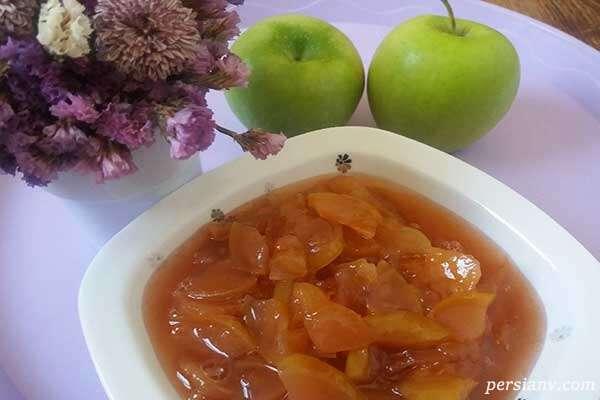 طرز تهیه مربا سیب