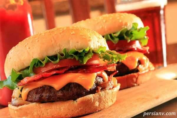 همبرگر با سویا