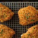 سوخاری مرغ با کورن فلکس