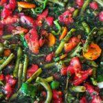طرز تهیه ترشی لوبیا سبز با قارچ