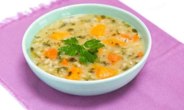 سوپ گندم و کلم خوشمزه و ساده