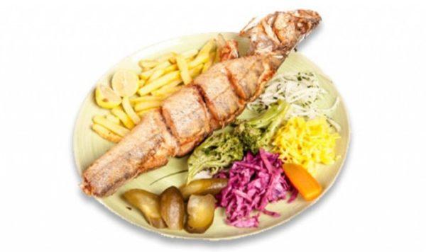 خوراک ماهی فوری