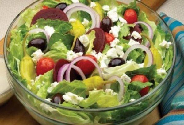 سالاد سبزیجات تازه