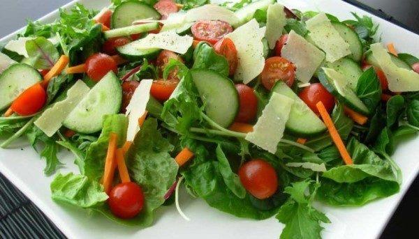 خوراک سبزیجات رژیمی