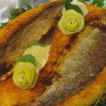 ته چین ماهی برای وعده افطار