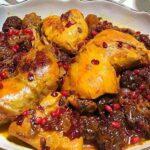 طرز تهیه خورش مرغ و آلو (بخارا)