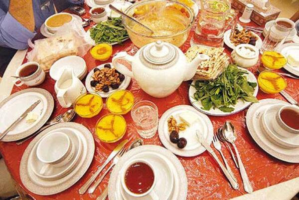 غذای لذیذ برای افطار و سحر