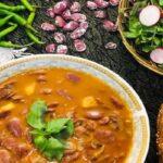 خوراک لوبیا عروس یک غذای گیاهی سالم