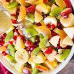 روش تهیه سالاد میوه زمستانی