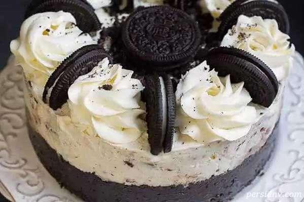 کیک بستنی قالبی