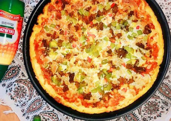 پیتزا سیب زمینی