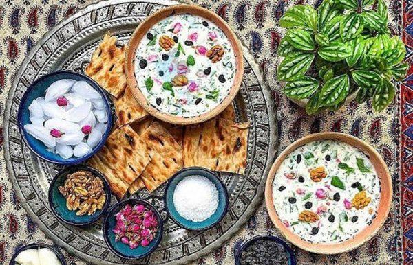 طرز تهیه ی غذاهای سنتی تابستان