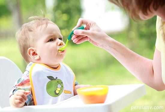 پورههایی برای بچههای ۷ – ۸ ماهه