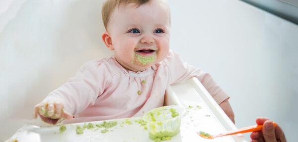 پوره برای نوزاد هفت ماهه