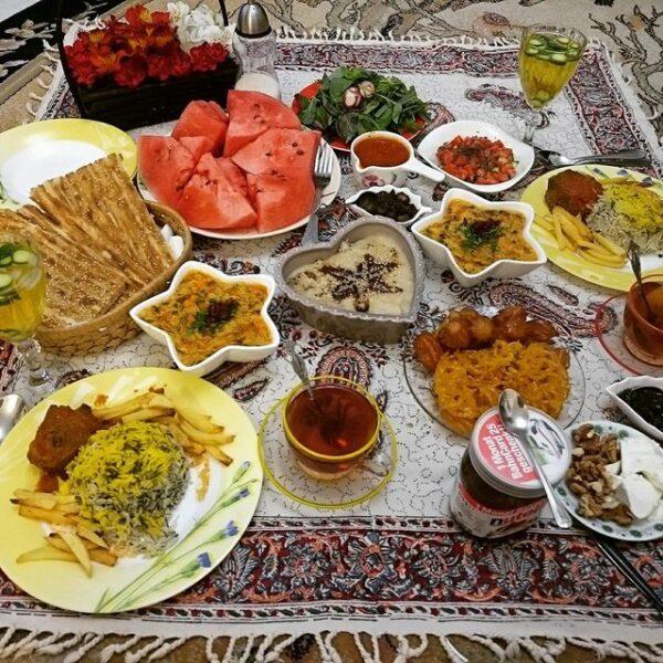 بهترین غذاهای افطاری