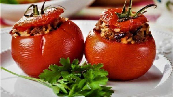 طرز تهیه دلمه گوجه فرنگی