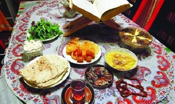 غذای مقوی برای ماه رمضان