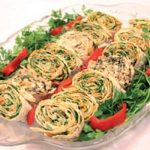 رولت مغزدار پنیر و سبزی (مخصوص ماه رمضان)