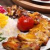 غذا برای افطاری – تهیه جوجه کباب با سالاد گوجهفرنگی