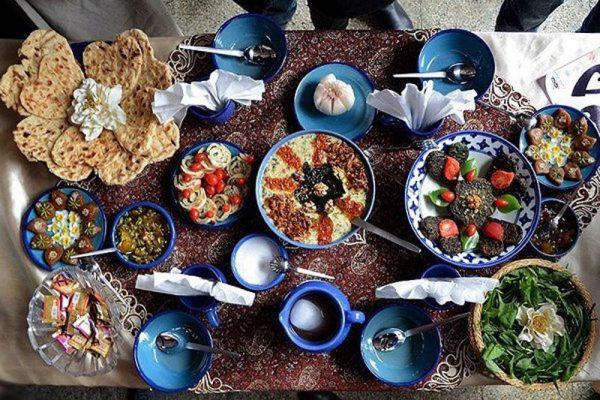 غذا برای افطاری